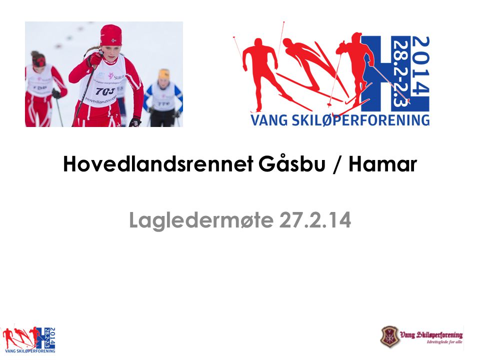 Hovedlandsrennet Gåsbu / Hamar