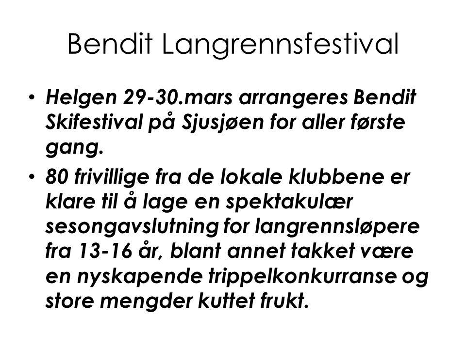 Bendit Langrennsfestival