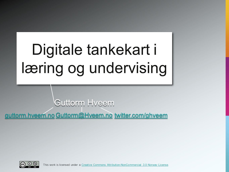 Digitale tankekart i læring og undervising
