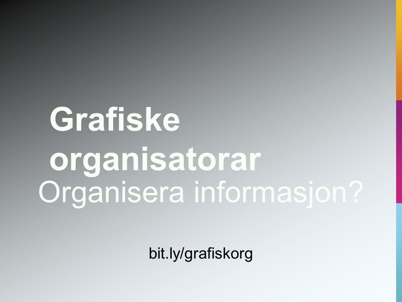 Organisera informasjon
