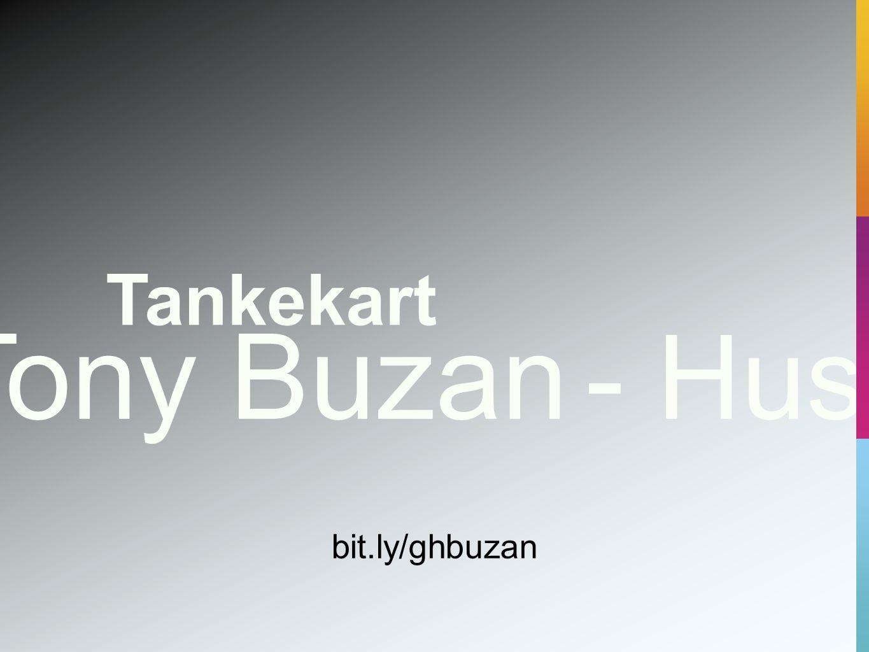 Tony Buzan - Husk Tankekart bit.ly/ghbuzan