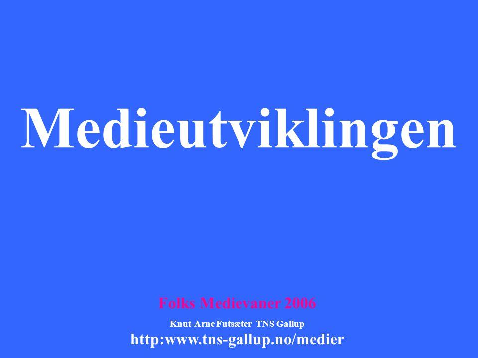 Knut-Arne Futsæter TNS Gallup
