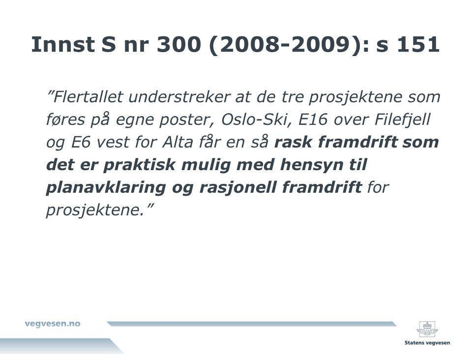 Innst S nr 300 (2008-2009): s 151