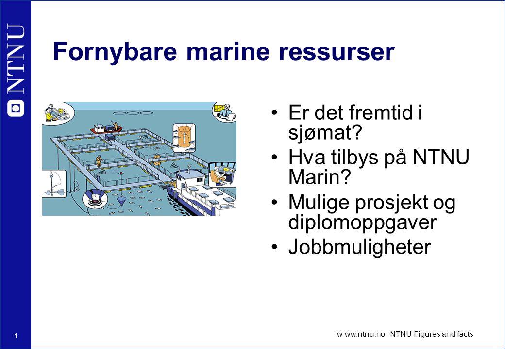 Fornybare marine ressurser