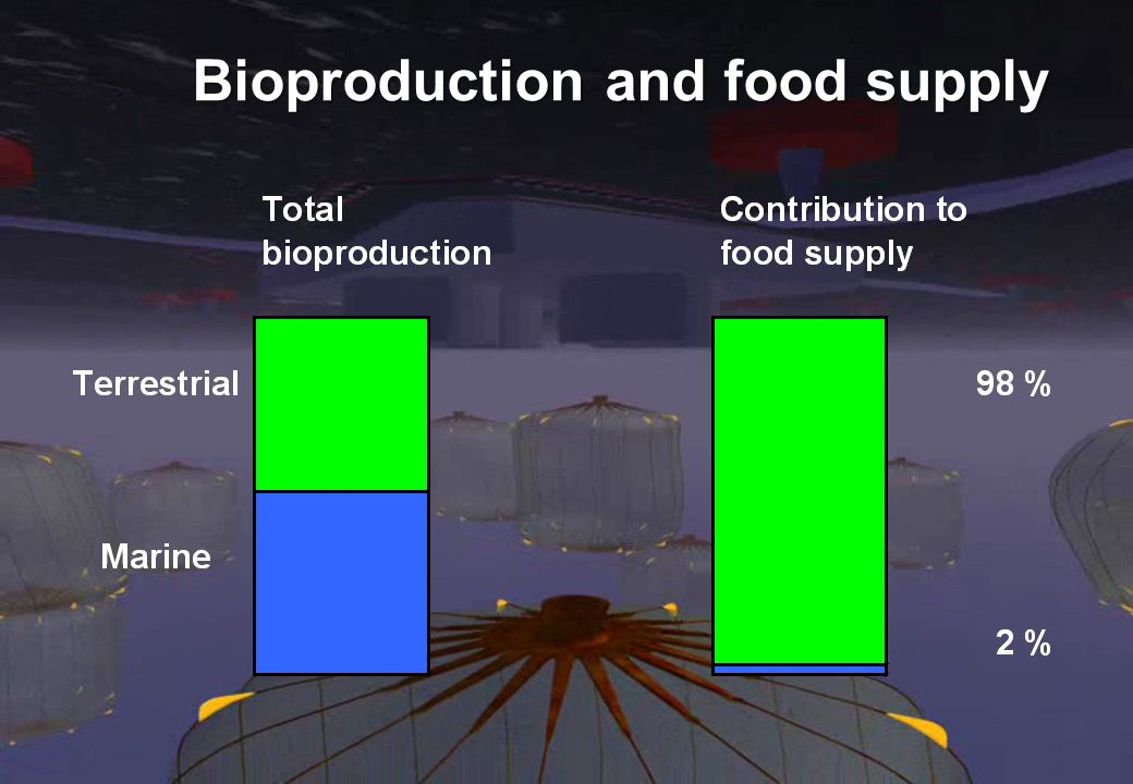 Bioproduction and food supply