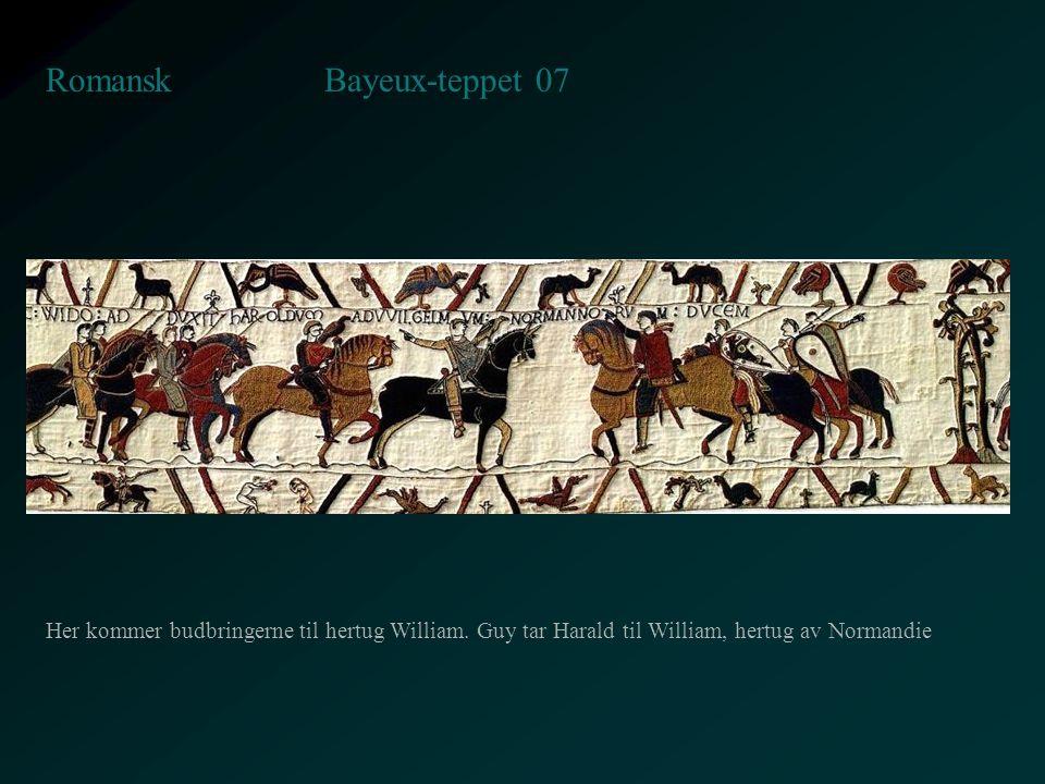 Bayeux-teppet 07 Romansk
