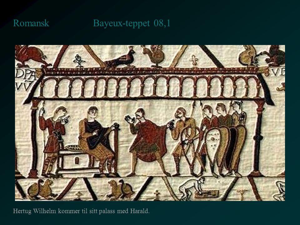 Bayeux-teppet 08,1 Romansk