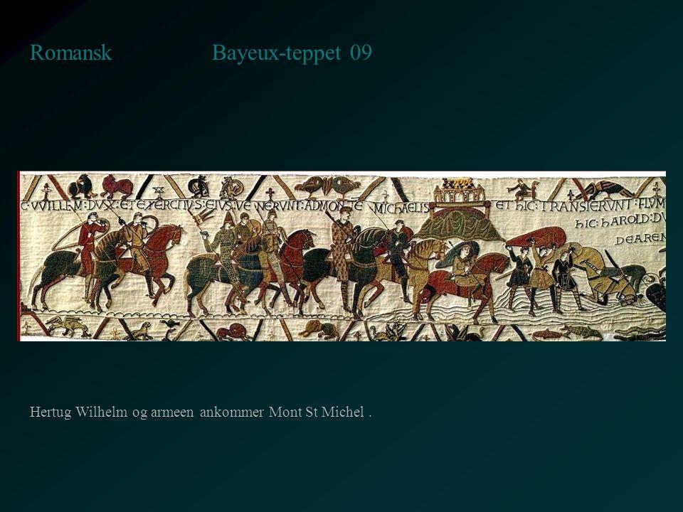 Bayeux-teppet 09 Romansk