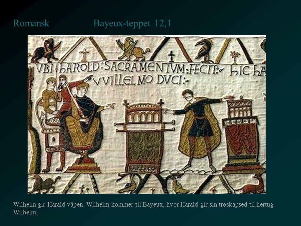 Bayeux-teppet 12,1 Romansk