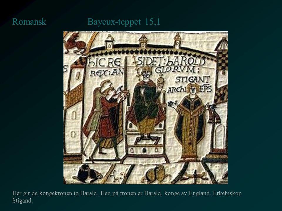 Bayeux-teppet 15,1 Romansk