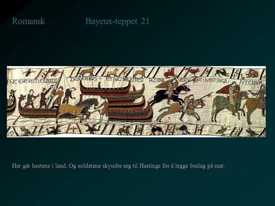 Bayeux-teppet 21 Romansk