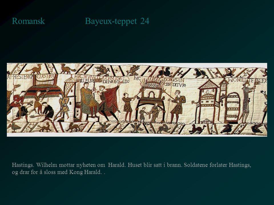 Bayeux-teppet 24 Romansk