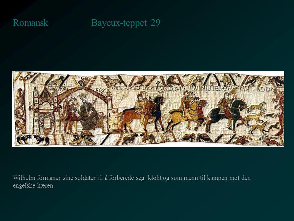 Bayeux-teppet 29 Romansk