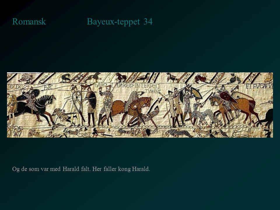 Bayeux-teppet 34 Romansk