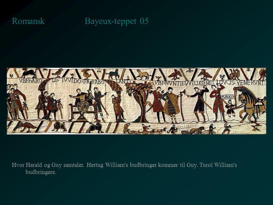 Bayeux-teppet 05 Romansk