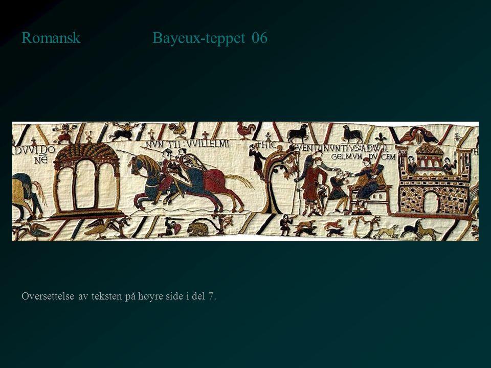 Bayeux-teppet 06 Romansk