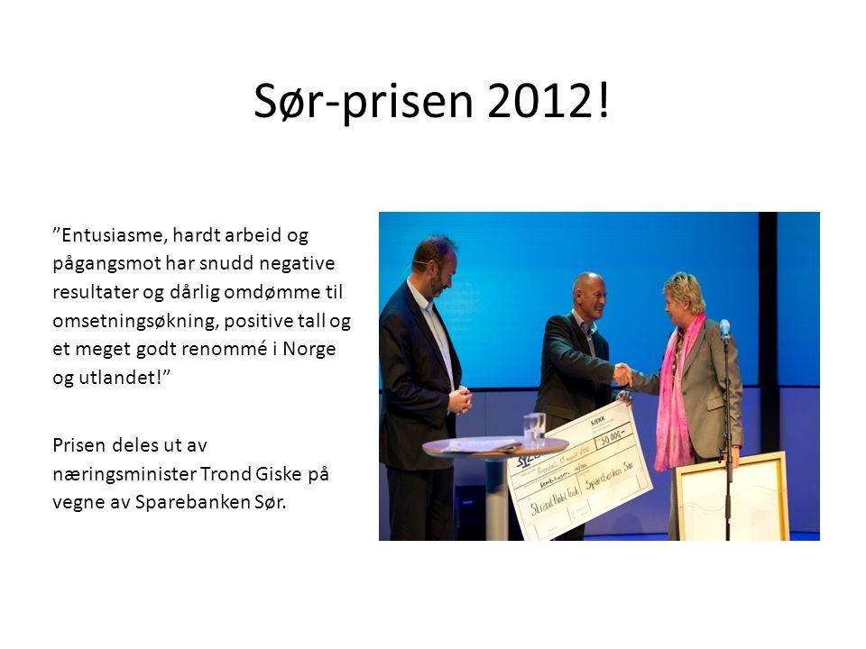 Sør-prisen 2012!