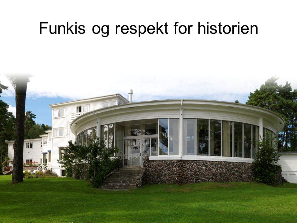 Funkis og respekt for historien