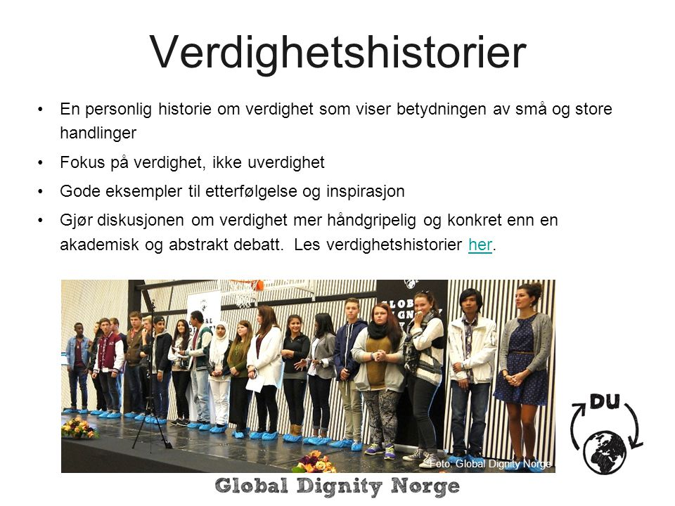 Foto: Global Dignity Norge