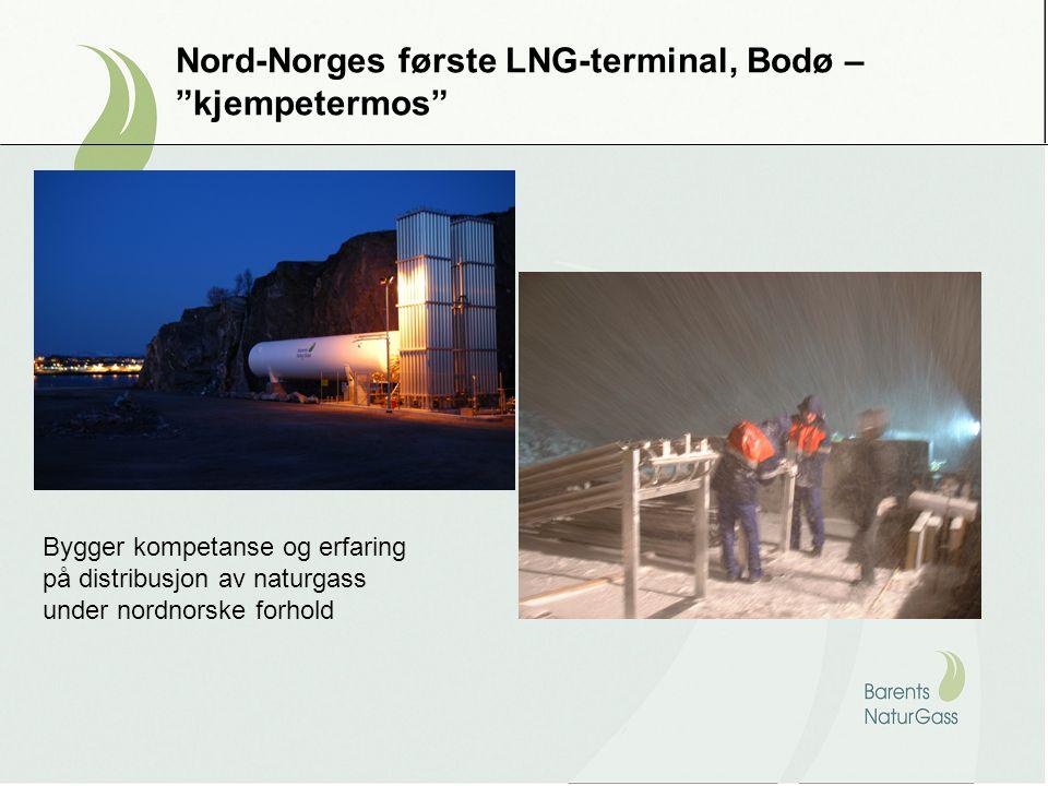 Nord-Norges første LNG-terminal, Bodø – kjempetermos