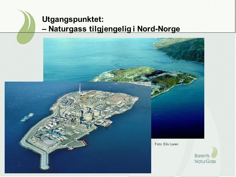 Utgangspunktet: – Naturgass tilgjengelig i Nord-Norge