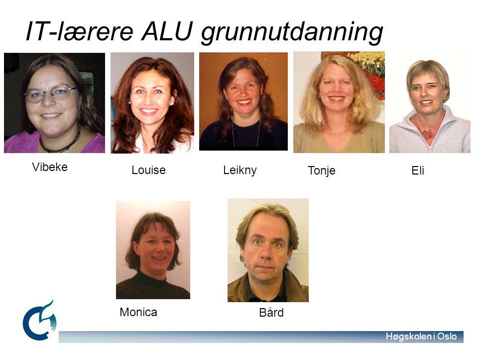 IT-lærere ALU grunnutdanning
