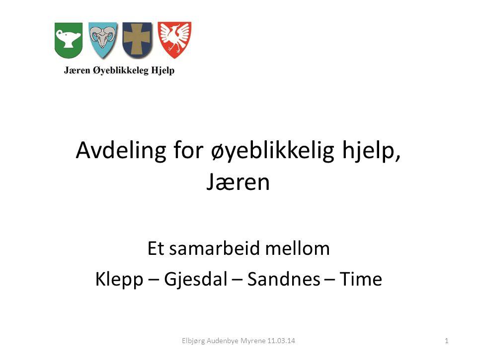Avdeling for øyeblikkelig hjelp, Jæren