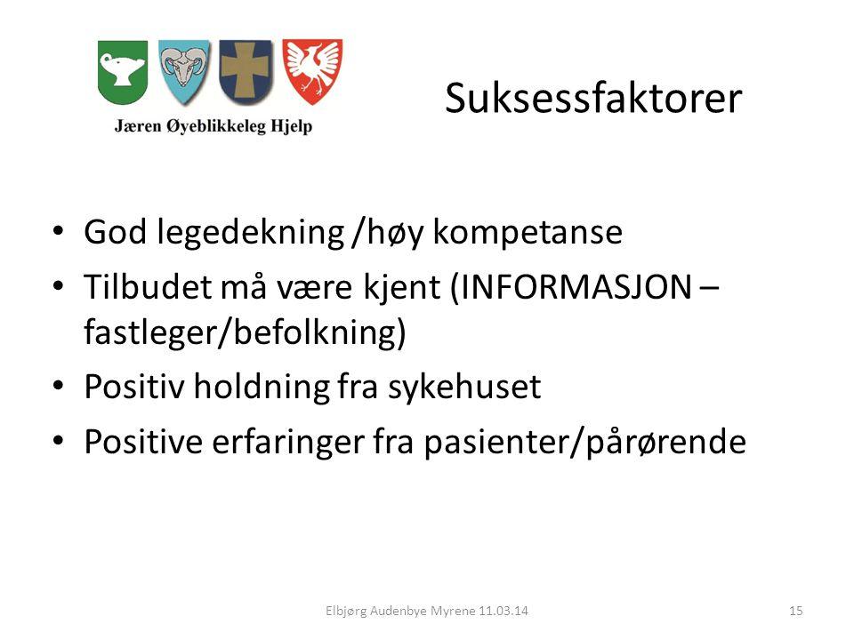 Elbjørg Audenbye Myrene 11.03.14