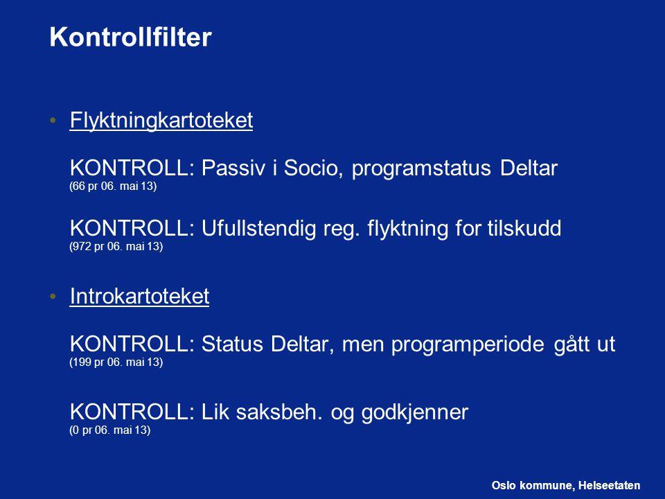 Kontrollfilter