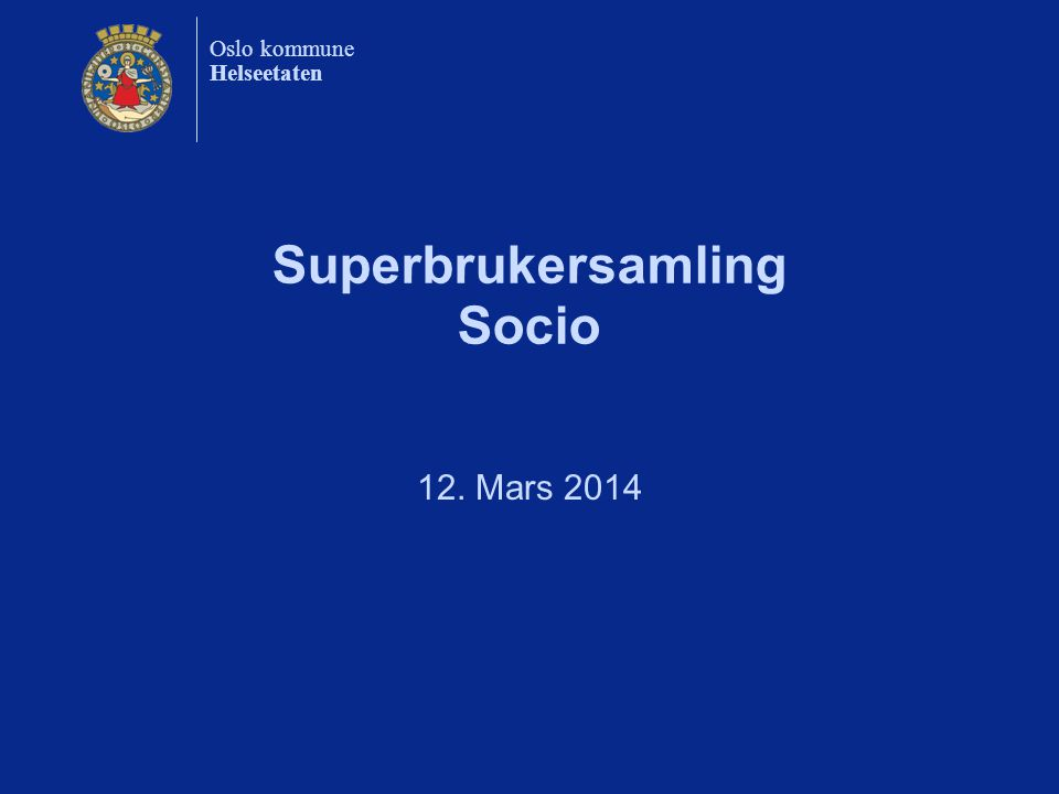 Superbrukersamling Socio