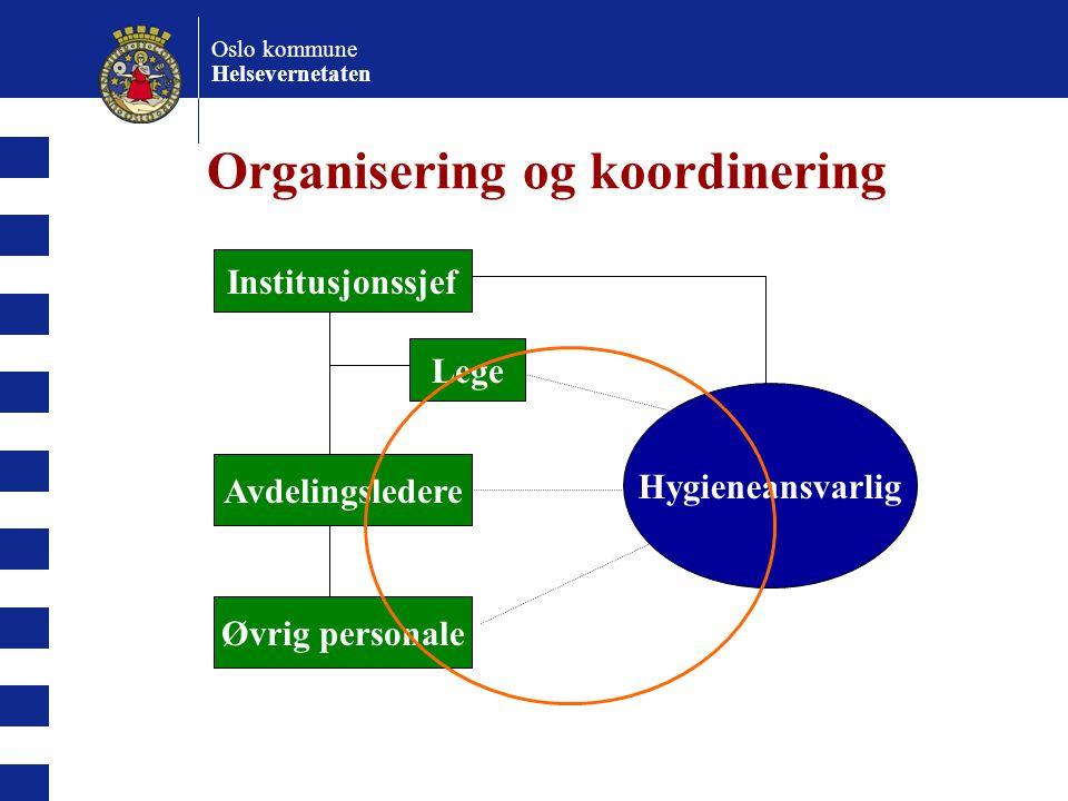 Organisering og koordinering