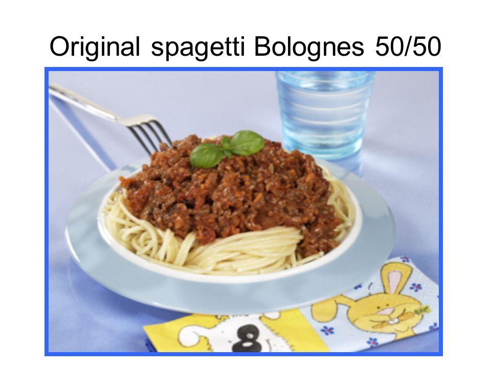 Original spagetti Bolognes 50/50