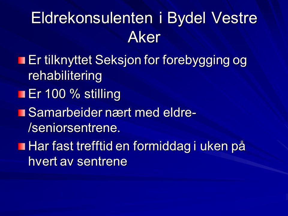 Eldrekonsulenten i Bydel Vestre Aker