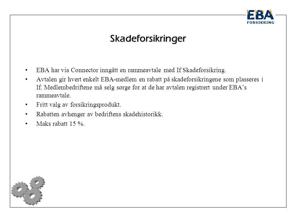Skadeforsikringer EBA har via Connector inngått en rammeavtale med If Skadeforsikring.