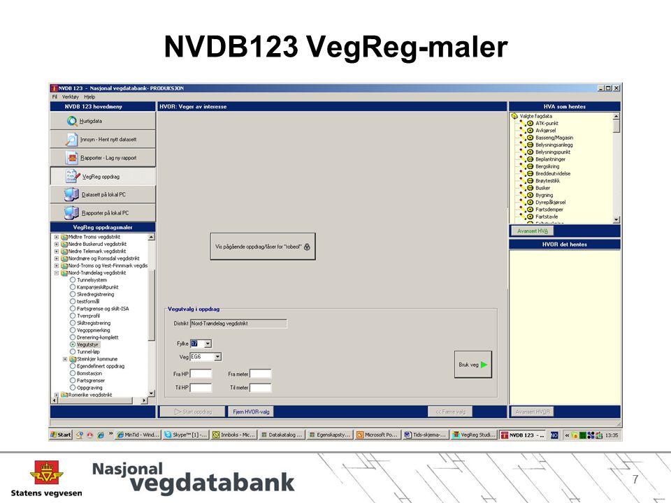 NVDB123 VegReg-maler