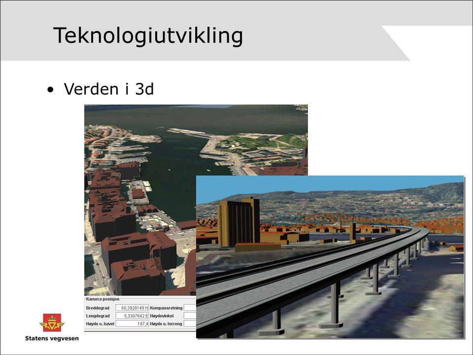 Teknologiutvikling Verden i 3d
