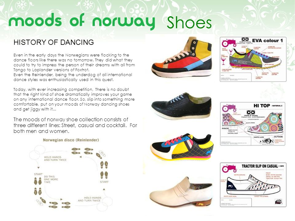 Shoes HISTORY OF DANCING