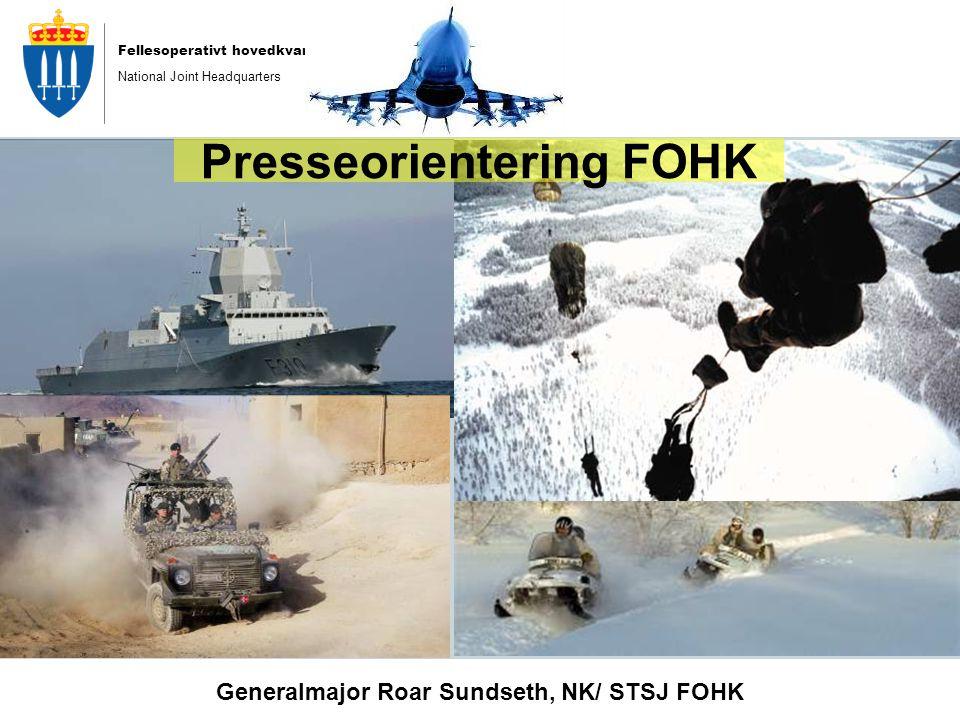 Presseorientering FOHK