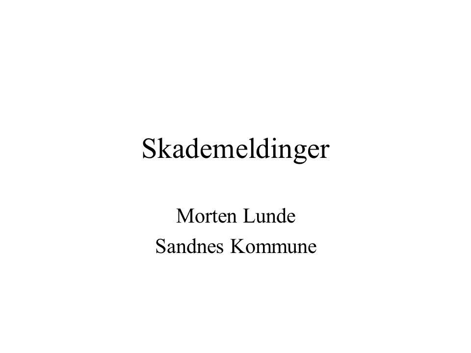 Morten Lunde Sandnes Kommune