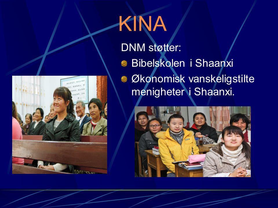 KINA DNM støtter: Bibelskolen i Shaanxi
