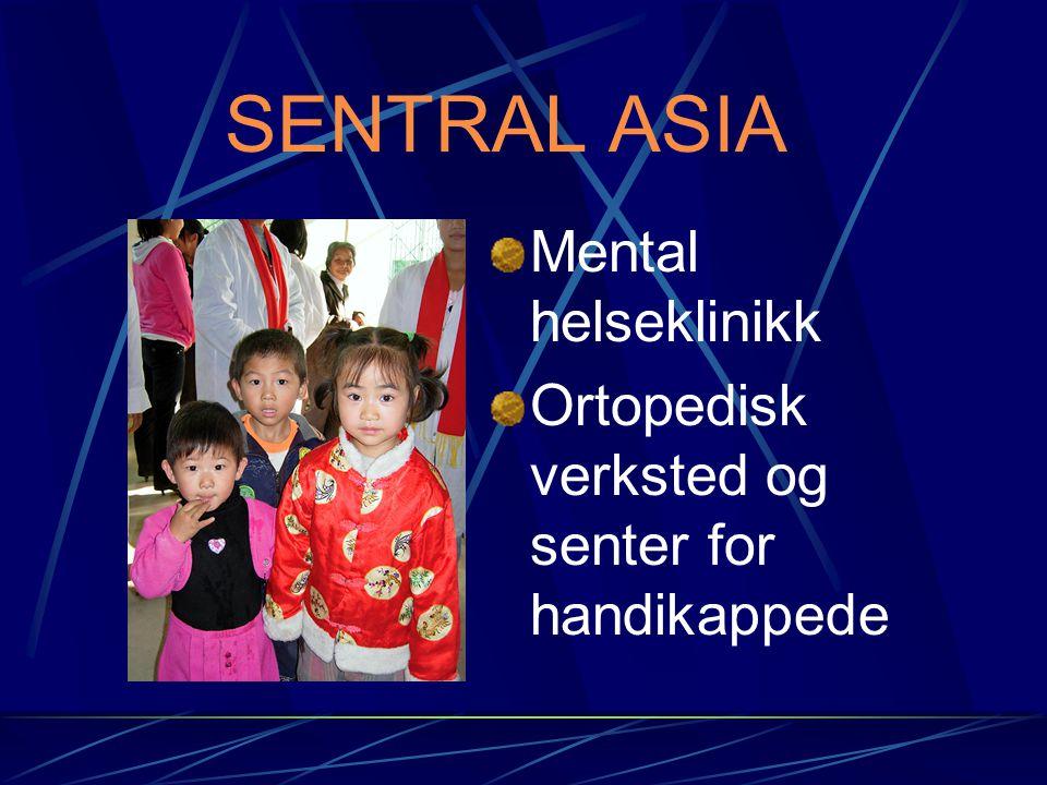 SENTRAL ASIA Mental helseklinikk