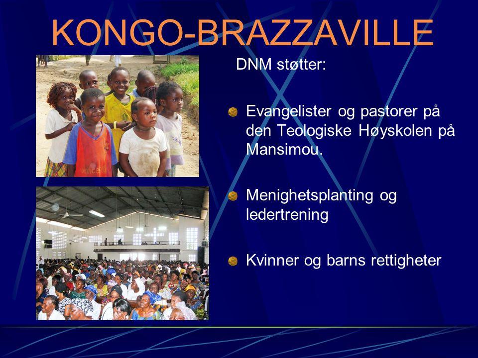 KONGO-BRAZZAVILLE DNM støtter: