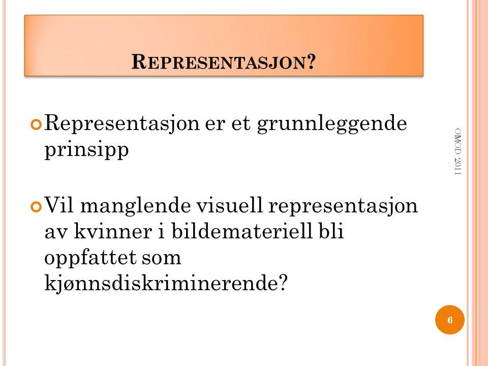 Representasjon er et grunnleggende prinsipp