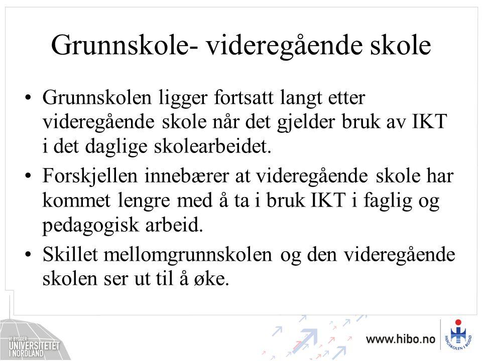 Grunnskole- videregående skole