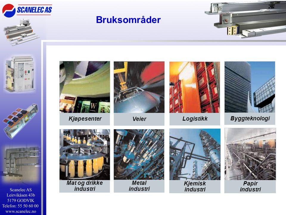 Bruksområder Kjøpesenter Veier Logistikk Byggteknologi