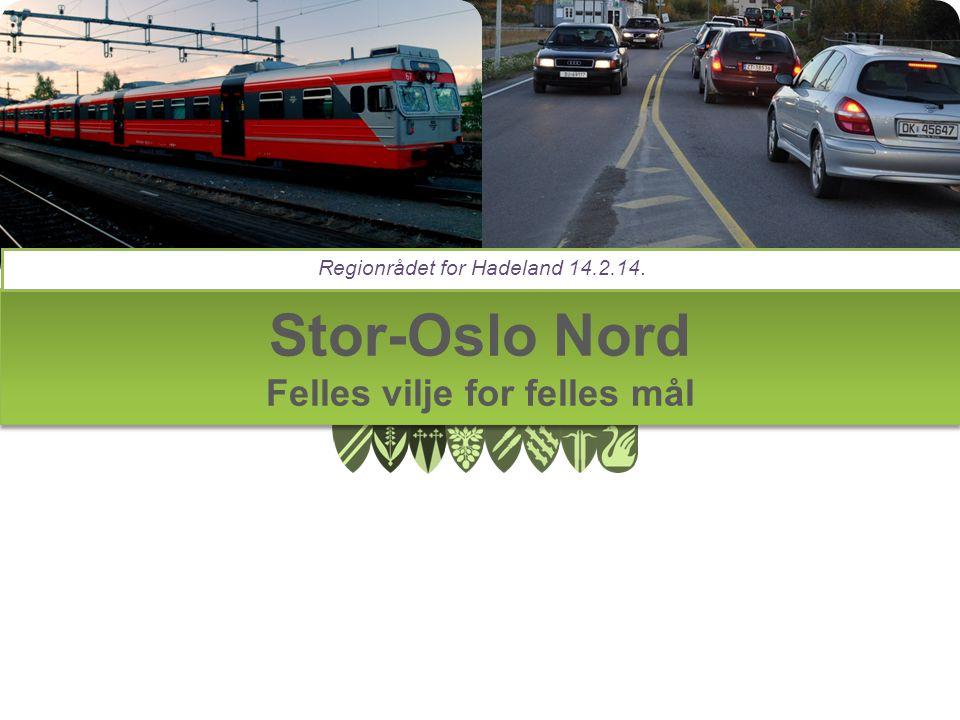 Stor-Oslo Nord Felles vilje for felles mål