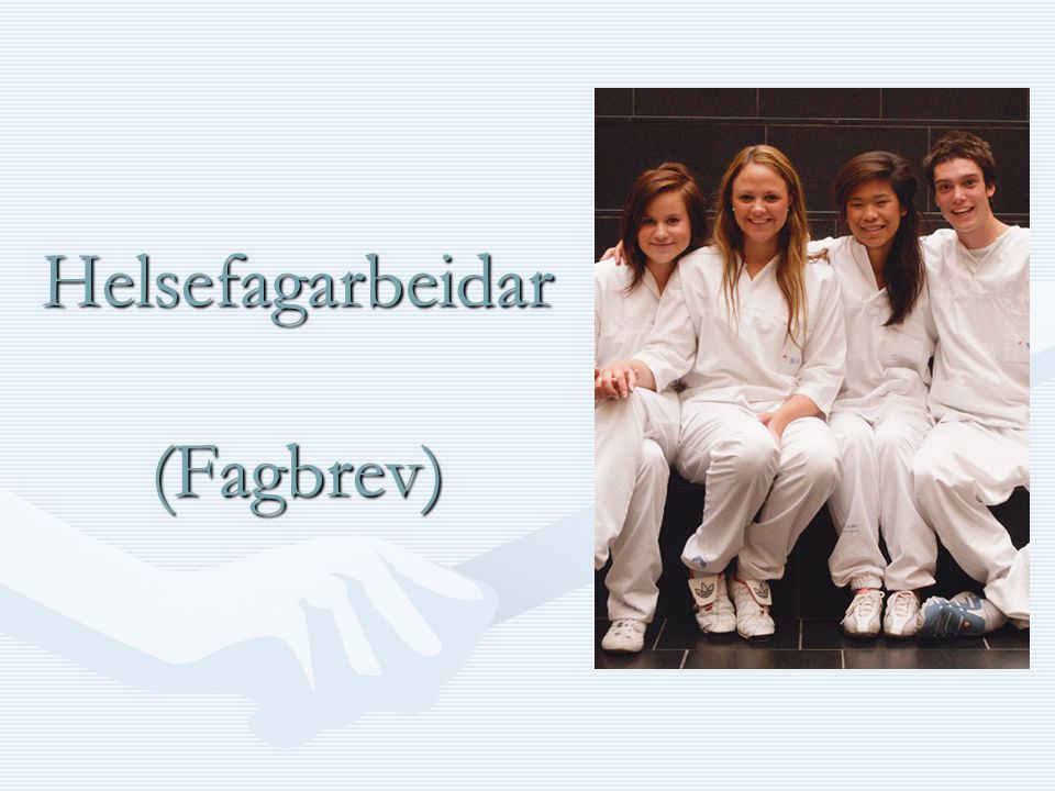 Helsefagarbeidar (Fagbrev)
