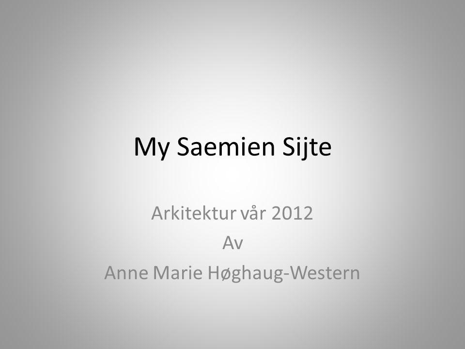 Arkitektur vår 2012 Av Anne Marie Høghaug-Western