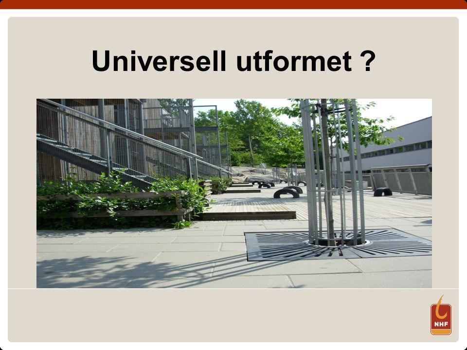 Universell utformet