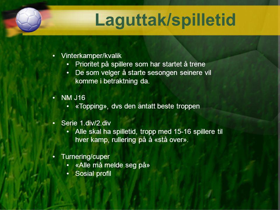 Laguttak/spilletid Vinterkamper/kvalik